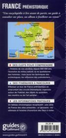 France préhistorique - 4ème de couverture - Format classique