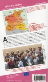 Guide Du Routard ; Pyrénées, Gascogne (Edition 2012) - 4ème de couverture - Format classique