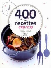 400 recettes express - Couverture - Format classique