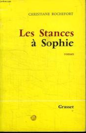 Les Stances A Sophie. - Couverture - Format classique