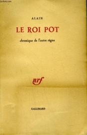 Le Roi Pot. Chronique De L'Autre Regne. - Couverture - Format classique