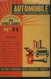 Automobile. Description, Entretien, Conduite. - Couverture - Format classique