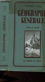 Geographie Generale - Classe De Seconde - Couverture - Format classique