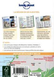 Biarritz et la cote basque en quelques jours 1ed - 4ème de couverture - Format classique