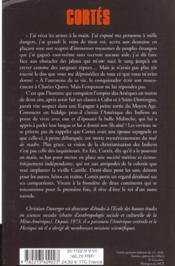 Cortes - 4ème de couverture - Format classique
