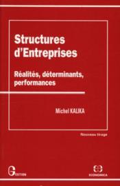 Structures D'Entreprises - Couverture - Format classique