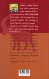 La vanoise - 4ème de couverture - Format classique