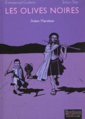 Les olives noires t.2 ; Adam Harishon - Couverture - Format classique