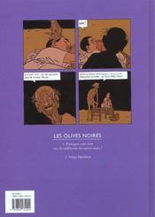 Les olives noires t.2 ; Adam Harishon - 4ème de couverture - Format classique