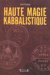 Haute Magie Kabbalistique - Intérieur - Format classique