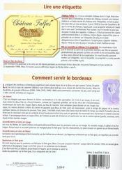 Petit Guide T.114 ; Les Vins De Bordeaux - 4ème de couverture - Format classique