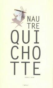 Nautre Quichotte - Intérieur - Format classique