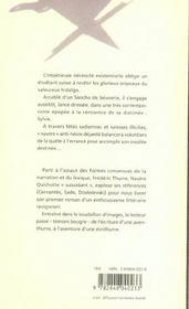 Nautre Quichotte - 4ème de couverture - Format classique