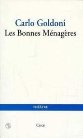 Bonnes Menageres (Les) - Couverture - Format classique