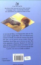 Cavalier de la nuit (le) - 4ème de couverture - Format classique