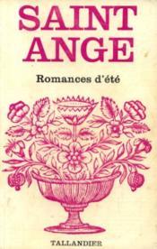 Romances d'été - Couverture - Format classique