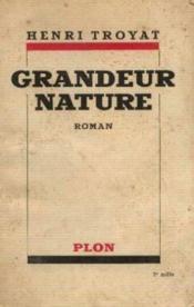 Grandeur nature - Couverture - Format classique