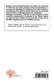 J.e.j. - 4ème de couverture - Format classique
