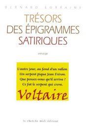 Trésors des épigrammes satiriques - Intérieur - Format classique