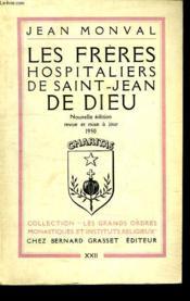 Les Freres Hospitaliers De Saint Jean De Dieu. - Couverture - Format classique