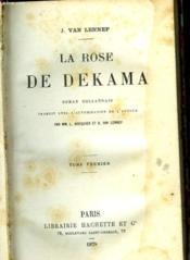 La Rose De Dekama - Tome Premier - Couverture - Format classique
