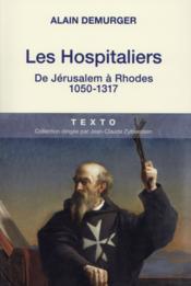 Les Hospitaliers - Couverture - Format classique