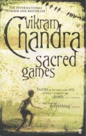 Sacred Games - Couverture - Format classique