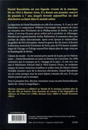Daniel Barenboim ; de la musique avant toute chose - 4ème de couverture - Format classique