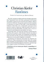 Fantômes - 4ème de couverture - Format classique