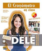 El cronómetro en clase ; escolares ; A2>B1 - Couverture - Format classique