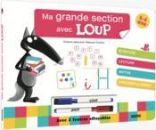 Loup ; livre-ardoise GS - Couverture - Format classique