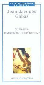 Nord-sud: l'impossible coopération? - Intérieur - Format classique
