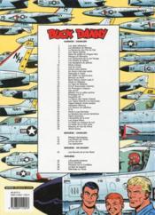 Les aventures de Buck Danny T.9 ; les gangsters du pétrole - 4ème de couverture - Format classique