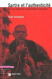 Sartre et l'authenticite - Intérieur - Format classique