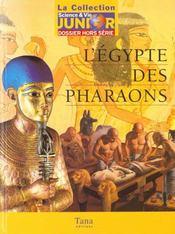 L'egypte au temps des pharaons - Intérieur - Format classique