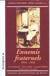 Ennemis Fraternels - Intérieur - Format classique