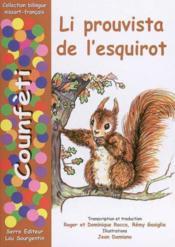 Li prouvista de l esquirot - Couverture - Format classique