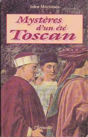 Mysteres D'Un Ete Toscan - Couverture - Format classique