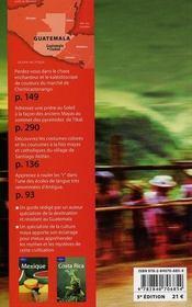 Guatemala (5e édition) - 4ème de couverture - Format classique