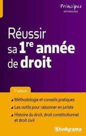 telecharger Reussir sa 1re annee de droit (7e edition) livre PDF en ligne gratuit
