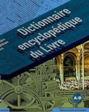 Dictionnaire encyclopédique du livre t.1 - Couverture - Format classique