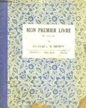Mon Premier Livre. 2ème Livret. - Couverture - Format classique