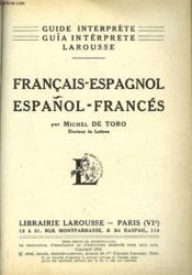 Guide Interprete Larousse Francais-Espagnol - Couverture - Format classique