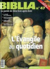 L Evangile Au Quotidien Bib47 - Couverture - Format classique