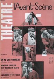 L'Avant-Scene - Theatre N° 267 - On Ne Sait Comment De L. Pirandello / M. Arnaud - Couverture - Format classique