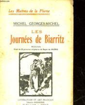 Les Journees De Biarritz - Couverture - Format classique