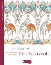 Inspiration art nouveau - Couverture - Format classique