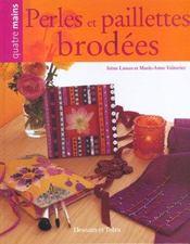 Perles Et Paillettes Brodees - Intérieur - Format classique