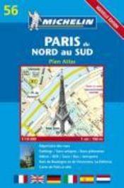 Paris du nord au sud ; 56 - Couverture - Format classique