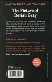 The picture of Dorian Gray - 4ème de couverture - Format classique